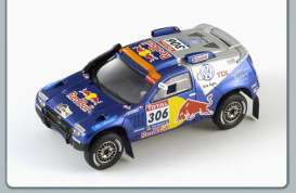 Volkswagen  - 2010 blue - 1:43 - Spark - S0827 - spaS0827 | The Diecast Company