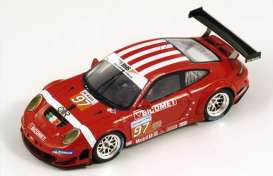 Porsche  - 2010 red - 1:43 - Spark - S2586 - spaS2586 | The Diecast Company