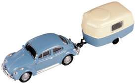 Volkswagen  - blue/creme - 1:87 - Model Power - mdpu19660 | The Diecast Company