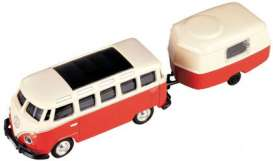 Volkswagen  - red-orange/creme - 1:87 - Model Power - mdpu19680 | The Diecast Company