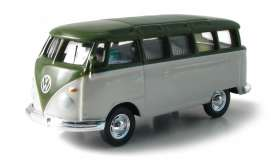 Volkswagen  - beige/olive green - 1:64 - GreenLight - 96032 - gl96032 | The Diecast Company