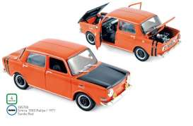 Simca  - 1000 1971 red-orange - 1:18 - Norev - 185700 - nor185700 | The Diecast Company