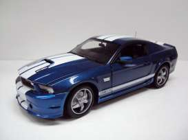 Shelby  - 2011 blue/white - 1:18 - Shelby Collectibles - shelby353 | The Diecast Company