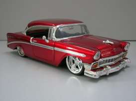 Chevrolet  - 1956 red - 1:24 - Jada Toys - 53607r - jada53607r | The Diecast Company