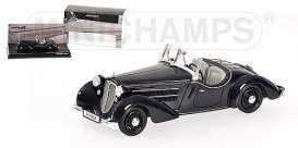 Audi  - 1935 dark blue - 1:43 - Minichamps - 437019130 - mc437019130 | The Diecast Company