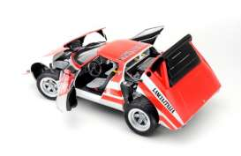 Lancia  - 1974 red/white - 1:18 - Kyosho - 8135C - kyo8135C | The Diecast Company