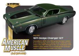 Dodge  - 1971 green - 1:18 - Auto World - amm941 | The Diecast Company