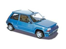 Renault  - 1987 blue metallic - 1:18 - Norev - 185203 - nor185203 | The Diecast Company