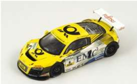 Audi  - 2009 yellow/white - 1:43 - Spark - sg001 - spasg001 | The Diecast Company
