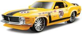 Ford  - 1970 yellow - 1:24 - Maisto - 31329y - mai31329y | The Diecast Company