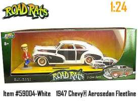 Road Rats 1947 Chevy Aerosedan Fleetline Die Cast