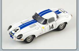 Jaguar  - 1963 white - 1:43 - Spark - S2106 - spaS2106 | The Diecast Company