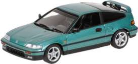Honda  - 1989 green metallic - 1:43 - Minichamps - 430161571 - mc430161571 | The Diecast Company