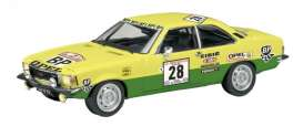 Opel  - 1974 yellow/green - 1:43 - Schuco - 2772 - schuco2772 | The Diecast Company