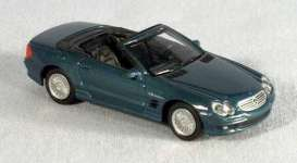 Mercedes Benz  - 2005 blue - 1:72 - Yatming - yat73SL55b | The Diecast Company
