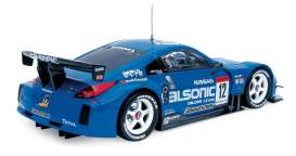 Nissan  - 2004 blue/white - 1:24 - Auto Pro Shop Hotworks - ms52404B | The Diecast Company