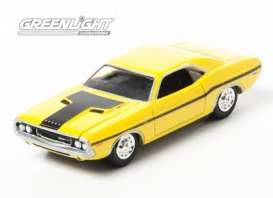 Dodge  - Challenger *NCIS* 1970 yellow - 1:64 - GreenLight - 44620D - gl44620D | The Diecast Company