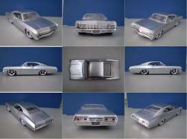 Chevrolet  - 1967 candy silver - 1:24 - Jada Toys - 96286s - jada96286s | The Diecast Company