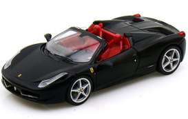 Ferrari  - 2012 matt black - 1:43 - Hotwheels Elite - mvW1184 - hwmvW1184 | The Diecast Company