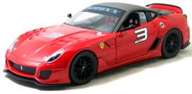 Ferrari  - 2010 red/grey - 1:18 - Hotwheels - mvV7432 - hwmvV7432 | The Diecast Company