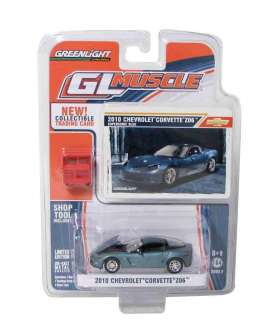 Chevrolet  - 2010 supersonic blue - 1:64 - GreenLight - 13026b - gl13026b | The Diecast Company