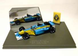 Renault  - blue/yellow - 1:43 - Universal Hobbies - uh3995 | The Diecast Company