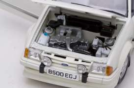 Ford  - Escort RS Turbo white - 1:18 - SunStar - 4961R - sun4961R | The Diecast Company
