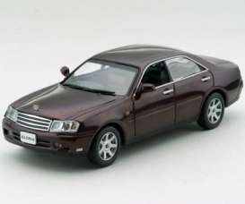 Nissan  - brown-red - 1:43 - J Collection - jc02005RD | The Diecast Company