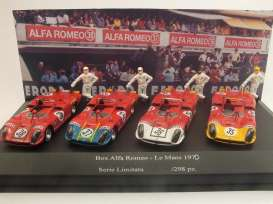 Alfa Romeo  - 1970 red - 1:43 - M4 Collection - m400D400 | The Diecast Company