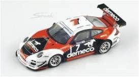 Porsche  - 2010 white/red/black - 1:43 - Spark - sf003 - spasf003 | The Diecast Company