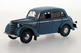 Moskvitch  - 1954 light blue - 1:43 - Ixo Ist Collection - ixist113 | The Diecast Company