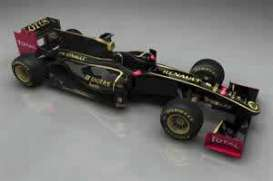 Lotus Renault - 2011 black/gold - 1:43 - Minichamps - mc410110079 | The Diecast Company
