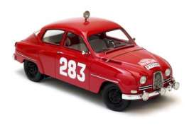 Saab  - 1963 red - 1:18 - NEO Scale Models - 18025 - neo18025 | The Diecast Company