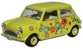 Mini  - 1970 lime - 1:43 - Oxford Diecast - oxmin015 | The Diecast Company