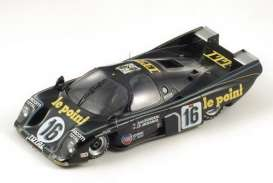 Rondeau  - 1980 black - 1:18 - Spark - 18LM80 - spa18LM80 | The Diecast Company