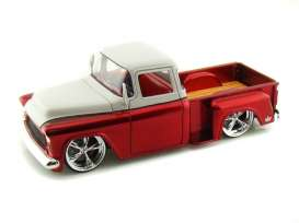 Chevrolet  - 1955 red/white - 1:24 - Jada Toys - 96355 - jada96355 | The Diecast Company
