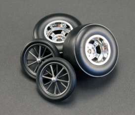 Rims & tires Wheels & tires - chrome - 1:18 - Acme Diecast - acme1800102 | The Diecast Company