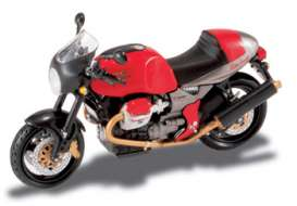 Moto Guzzi  - red/grey/black - 1:24 - Magazine Models - V11Sport - MagV11Sport | The Diecast Company
