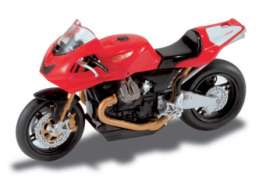 Moto Guzzi  - red - 1:24 - Magazine Models - MGS01 - MagMGS01 | The Diecast Company