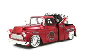 Chevrolet  - 1955 red - 1:24 - Jada Toys - 96401r - jada96401r | The Diecast Company