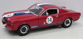 Shelby Ford - 1965 red/blue/white - 1:18 - Shelby Collectibles - shelby363 | The Diecast Company