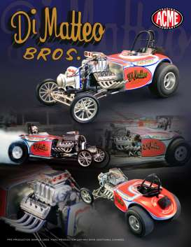 Chrysler Dragster - 1968  - 1:18 - Acme Diecast - Acme1800807 | The Diecast Company