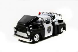 Chevrolet  - 1955 black/white - 1:24 - Jada Toys - 96393 - jada96393 | The Diecast Company