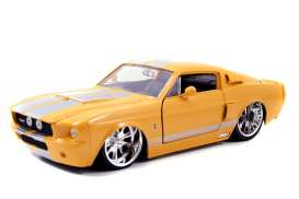 Shelby  - 1967 orange - 1:24 - Jada Toys - 96444 - jada96444 | The Diecast Company