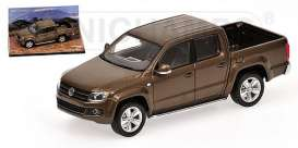 Volkswagen  - 2009 metallic brown - 1:43 - Minichamps - 436058361 - mc436058361 | The Diecast Company