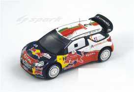 Citroen  - 2011 red/white/blue - 1:43 - Spark - S3307 - spaS3307 | The Diecast Company