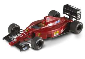 Ferrari  - 1989 red - 1:43 - Hotwheels Elite - mvX5517 - hwmvX5517 | The Diecast Company
