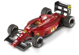 Ferrari  - 1989 red - 1:43 - Hotwheels Elite - mvX5518 - hwmvX5518 | The Diecast Company