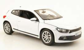 Volkswagen  - 2010 white - 1:24 - Welly - welly24007w | The Diecast Company