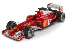 Ferrari  - 2002 red - 1:43 - Hotwheels Elite - mvX5513 - hwmvX5513 | The Diecast Company